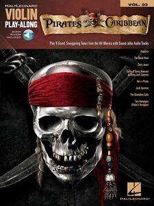 Pirates Of The Caribbean Violin Play-along Book And Audio 000842625 Neuf-afficher Le Titre D'origine êTre Reconnu à La Fois Chez Soi Et à L'éTranger Pour Sa Finition Exceptionnelle, Son Tricot Habile Et Son Design éLéGant