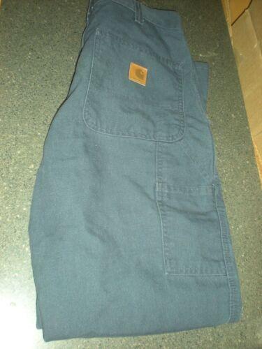 383 condizioni Buone 20 Pantaloni Buio Carhartt 42x30 salopette aderenti 17 Buio 5 lavoro da d1PvFUcq