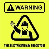 Warning This Electrician May Shock You Funny Electrician Shirt - The Shocker