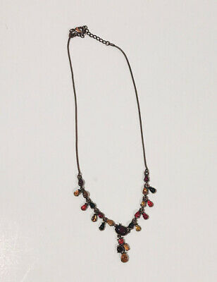 California Theme Lariat Y Style 21 Silver Colored Necklace