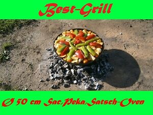 Best-Grill-sa-SAC-Peka-legno-CARBONE-GRILL-satsch-Oven-50-cm