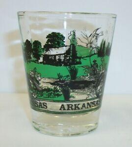 Vintage-Arkansas-Souvenir-Shot-Glass-Ourdoor-Sportsman