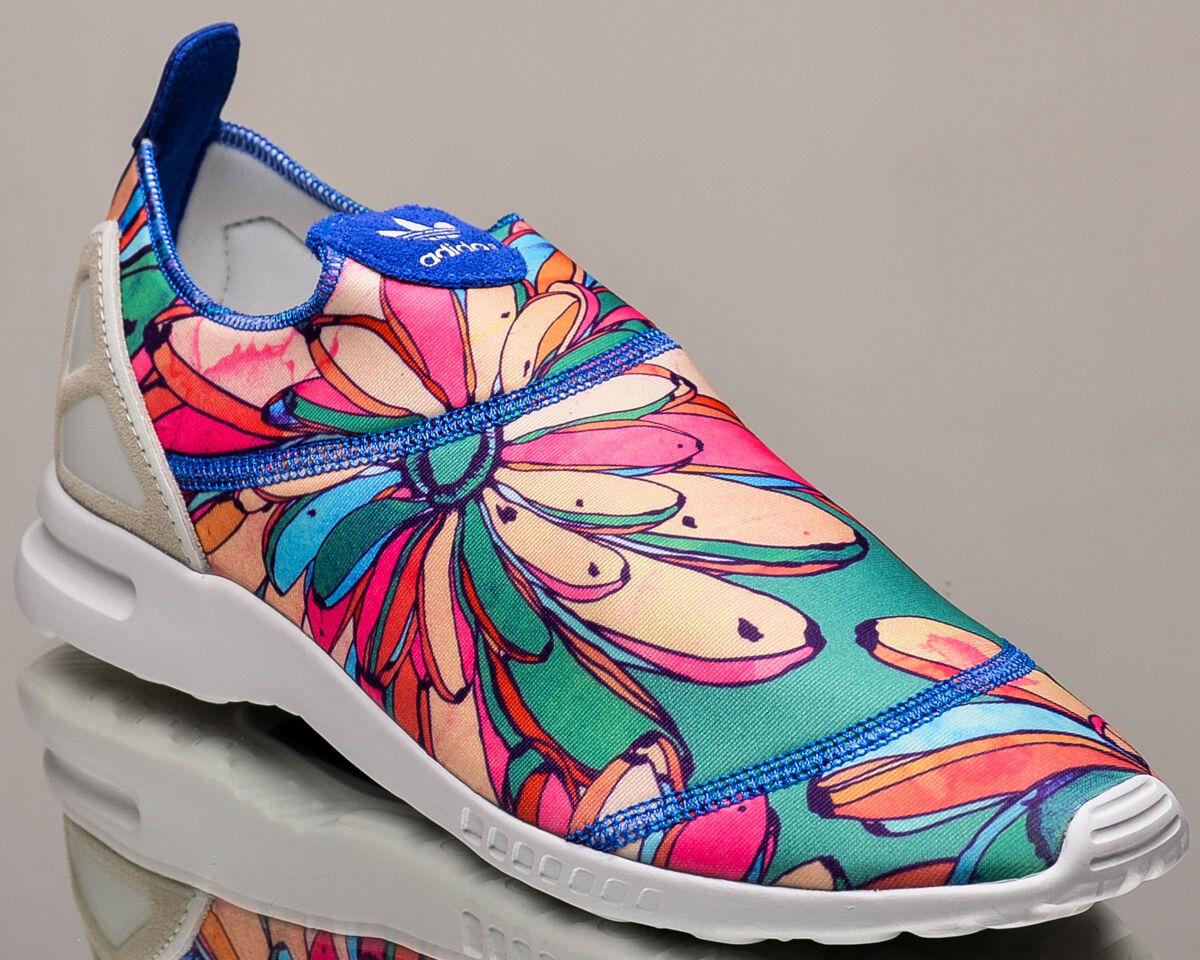 adidas Originals WMNS ZX Flux ADV Smooth Slip On women lifestyle sneakers multi