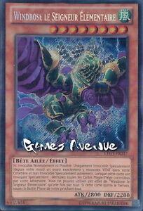 Windrose le seigneur élémentaire BLRR-FR070 ULTRA//RARE VF Yu-Gi-Oh