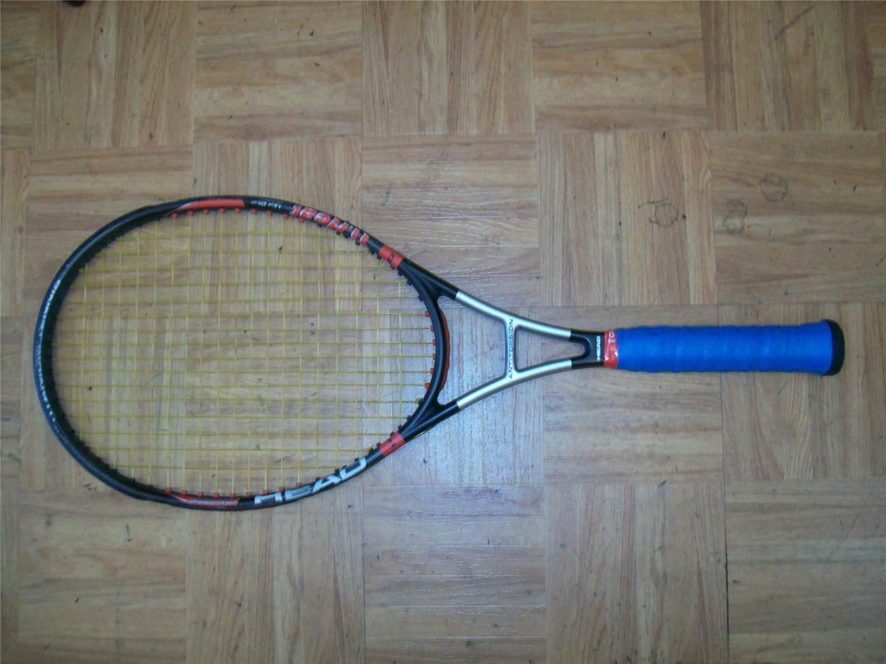 Head Ti. Heat Comfort Zone Midplus 102 4 3 8 grip Tennis Racquet
