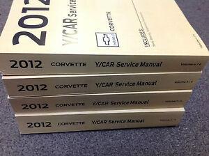Chevrolet-2012-Chevy-Corvette-Taller-De-Servicio-Reparacion-Taller-Manual-conjunto-de-fabrica