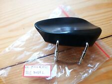 EBONY VIOLIN CHIN REST, HILL MODEL, WITH CORKED CLAMP, 4/4, FROM UK!