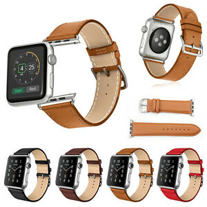 Replacement-Genuine-Leather-Watch-Strap-Band-for-Apple-Watch-Series-4-3-2-1