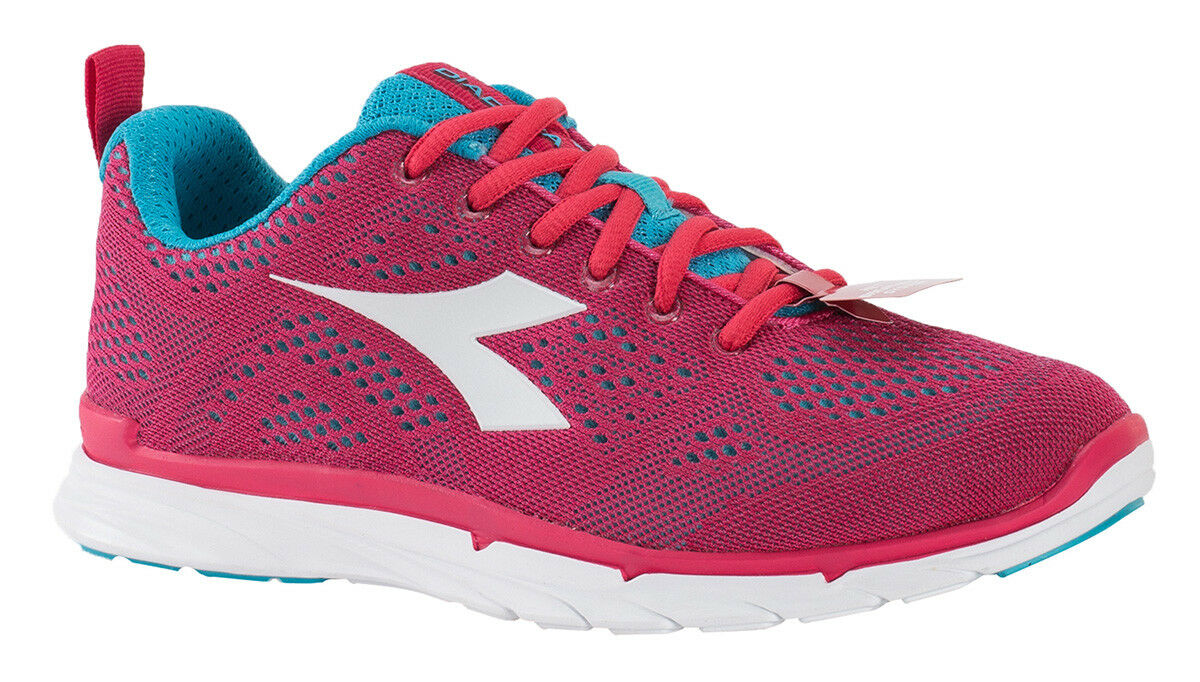 Diadora Scarpa Running Sneaker Jogging women NJ-303 Trama Teaberry blueee  atoll  w  more affordable