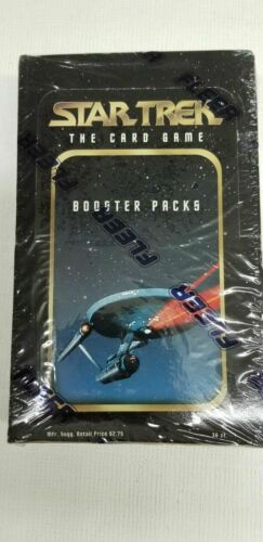 Star Trek the Card Game Collectible 12 Starter Deck Box Still Sealed 1996 Skybox
