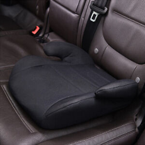 Car-Booster-Seat-Chair-Cushion-Pad-For-Toddler-Children-Child-Kids-Sturdy-Black