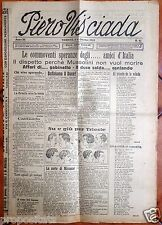 gx 01 Trieste PIERO VIS'CIADA Settimanale satirico - 8 ottobre 1923
