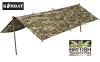 Army Combat Military Tent Rain Poncho Surplus Basha Shelter Waterproof Btp Dpm