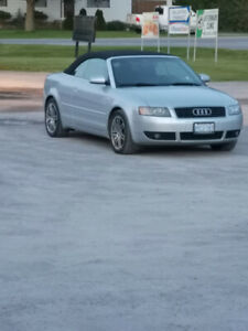 2003 Audi A4 Convertible Premium Package