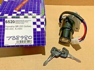 NOS Yamaha XJ600 XJ900 FJ1200 XTZ660 Tenere Ignition Switch VIC-6520 4 Wire SR