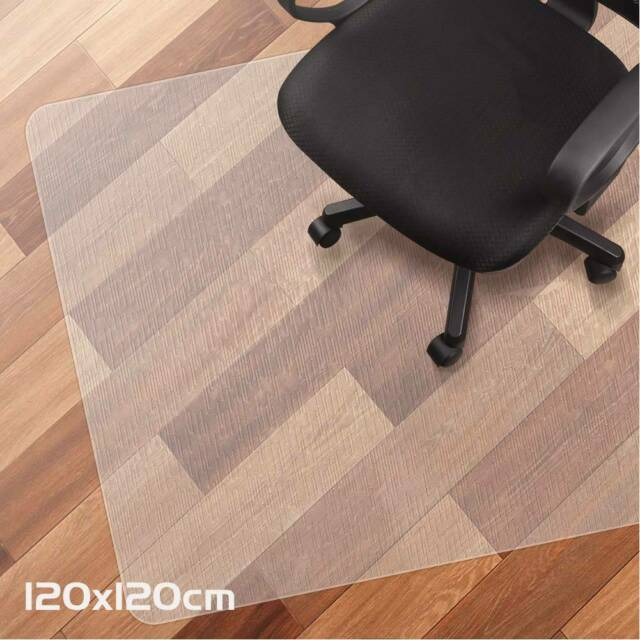 Office Chair Mat Hard Wood Floor Carpet Protector 90 X 120 Heavy Duty Flat For Sale Online Ebay