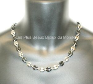 Jewelry & Watches Collar Hombre Cadena Cadena De Calabrotes 11 Mm Acero Inoxidable Chapado De Oro Fine Necklaces & Pendants