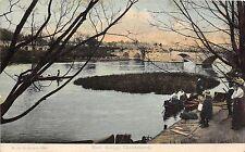 POSTCARD     DORSET    CHRISTCHURCH   Ilford  Bridge