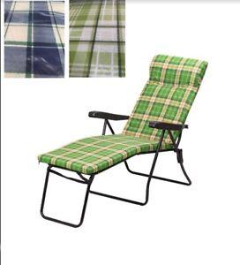 Sedia-a-Sdraio-con-Cuscino-e-Prolunga-Poggiapiedi-Variante-di-Colori-Assortiti