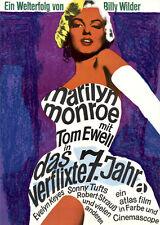 Das verflixte 7. Jahr ORIGINAL A1 Kinoplakat GEROLLT B. Wilder / Marilyn Monroe