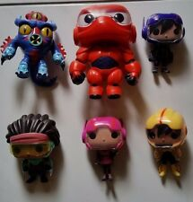 FUNKO BIG HERO 6 MOVIE - SET OF 6 POPS - LOOSE & IN MINT CONDITION
