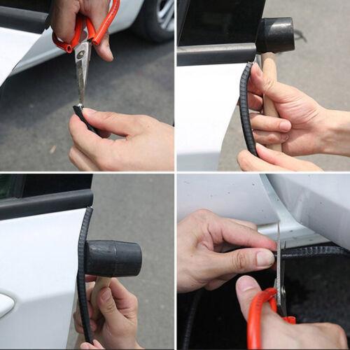 "118/"" 3M Rubber Seal Weatherstrip Car Door Protector Edge Trim Lok Guard Black"