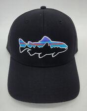 43be3ed2c07 item 4 Patagonia Mens Fitz Roy Trout Trucker Snapback Cap Hat 38008 Black - Patagonia Mens Fitz Roy Trout Trucker Snapback Cap Hat 38008 Black