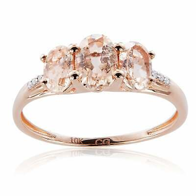 Diamond Wedding Band in 10K Pink Gold Size-11 G-H,I2-I3 1//20 cttw,