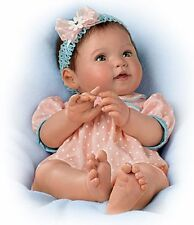 MY PRECIOUS SWEETHEART! -Newborn 16 Inch Collectors Life Like Baby Girl Doll