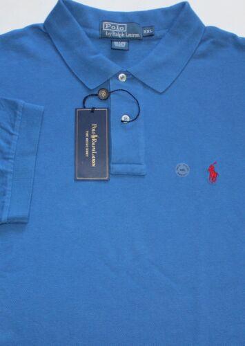 Nieuw Polo blauw mesh2xl met Ralph 887879223514 shirt Indigo Lauren katoenen kn0OPwX8