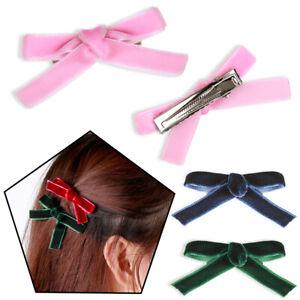 pour-cheveux-bowknot-les-pinces-a-cheveux-le-velours-des-epingles-a-cheveux