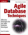 Agile Database Techniques: Effective Strategies for the Agile Software Developer by Scott W. Ambler (Paperback, 2003)