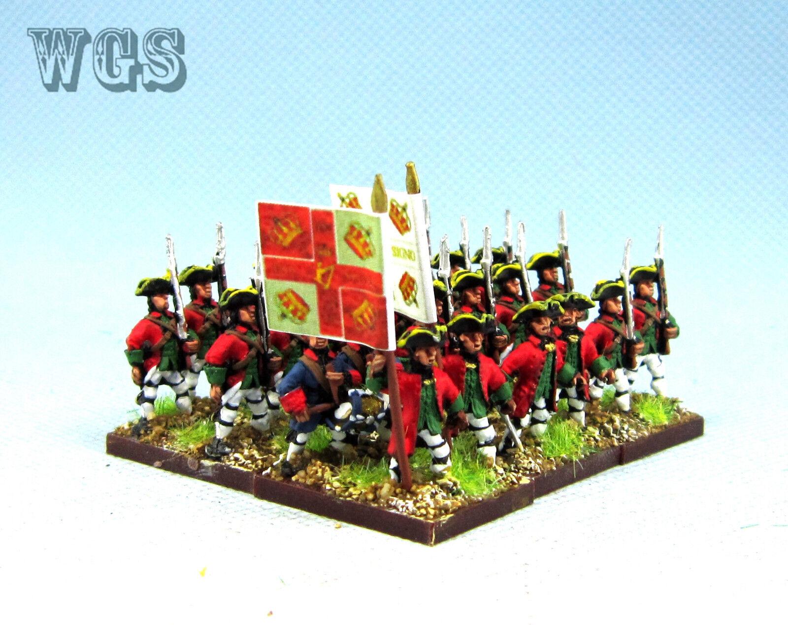 15mm Syw Seven Years War un Pintado francés Lally Infanterie Fa24