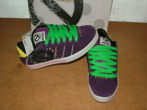 Ladies-New-In-Box-Odessa-Purple-Suede-Training-Shoes-Size-4