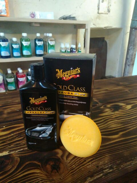 Meguiars Gold Class Carnauba Plus Premium Liquid Wax 473ml G7016EU (58,98€/L)