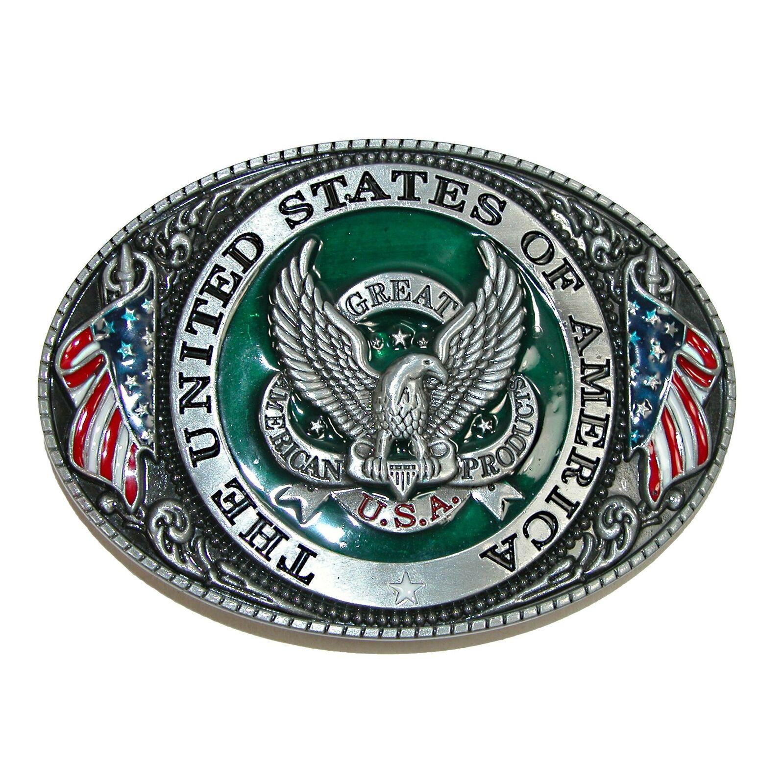 Neu CTM USA American Eagle Gürtelschnalle