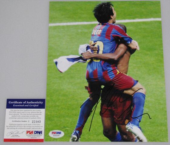 DECO Barcelona Hand Signed 8'x10' Photo + PSA DNA DNA DNA COA I22103 f824f7