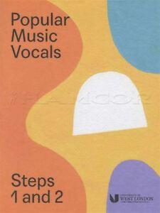 Musique Populaire Chant Les étapes 1 Et 2 London College Of Music Lcm Chantant Examen Livre-afficher Le Titre D'origine Renforcement Des Nerfs Et Des Os