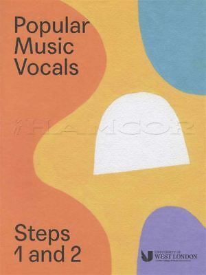 Initiative Popular Music Vocals Steps 1 And 2 London College Of Music Lcm Singing Exam Book To Win A High Admiration And Is Widely Trusted At Home And Abroad. Instruction Books, Cds & Video Contemporary