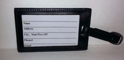 Luggage Tags Monogrammed Female Names Black w// White Polka Dots Pink Stripes