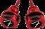 Genuine-Fender-Infinity-F-Logo-Strat-Tele-Guitar-Strap-Locks-Straplocks-RED miniature 2