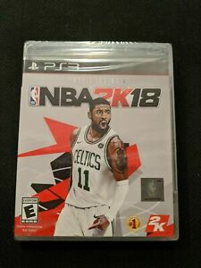 NBA-2K18-Sony-PlayStation-3-PS3-BRAND-NEW-SEALED