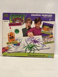 New Creepy Crawlers Mold Pak Colossal Crawlers Icky Yuckies 1992. Box Has Wear