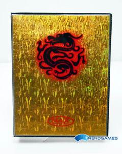 China-Dragon-Gold-Wave-4-Pocket-Portfolio-Max-Protection-Karten-Sammel-Album