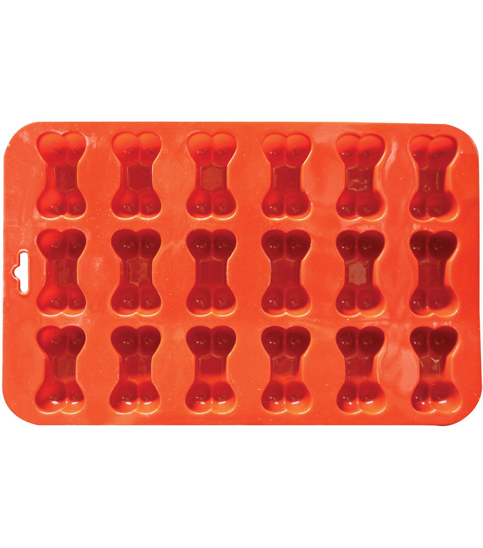 Mini Bone Silicone Baking Pan Flexible Mold Ice Tray Dog