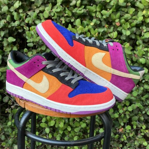 Nike Dunk Low VIOTECH Multicolor SB SZ 11