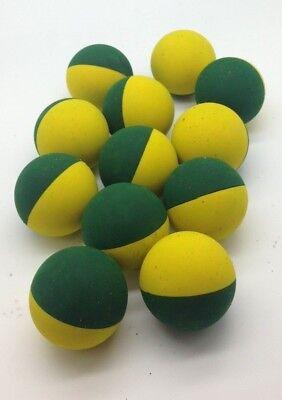 12 Mini Green Squash Downgrade Balls