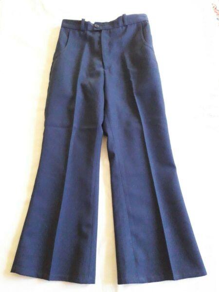 Creativo Pantalon Garçon Uniforme Scolaire T.7a Vintage 70 Boy School Trouser Siz 7y