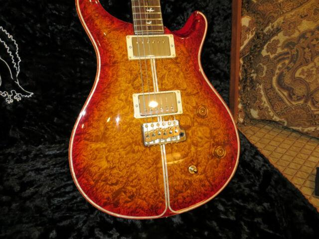 Prs Private Stock McCarty One Piece Burl Maple Top Brazilian Fretboard 2006