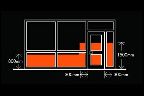 KLAR 100 100 100 MICRON SICHERHEIT SICHERHEIT SCHUTZ ANTI-BRUCH PRO FENSTER TÖNUNGSFOLIE | Schön geformt  effe29